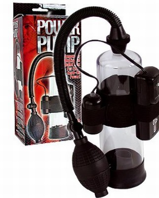 Power Pump Penis Pomp met Vibro Bullet