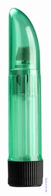 Vibrator - Crystal Clear Lady Finger, groen