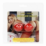 Latex lustballen Rood