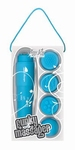 Pocket Rocket - Toy Joy Funky Massager, blauw